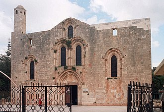 Tartus - The Crusader-era cathedral of Our Lady of Tortosa.