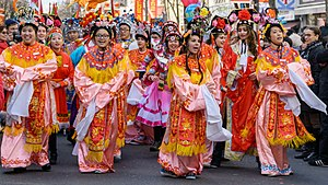 Quartier Asiatique - Image: Nouvel an chinois 2015 Paris 13 02