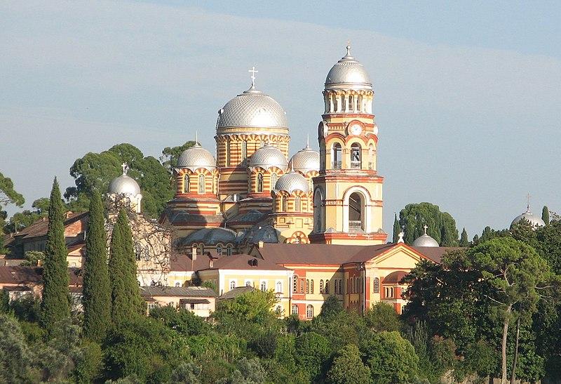 http://upload.wikimedia.org/wikipedia/commons/thumb/c/c7/Novoafonsky_monastyr.jpg/800px-Novoafonsky_monastyr.jpg