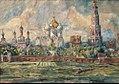 Novodevichy Convent by Aristarkh Lentulov (1926-27).jpg
