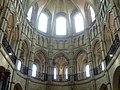 Noyon (60), cathédrale Notre-Dame, chœur, rond-point de l'abside, parties hautes, vue vers l'est 2.jpg