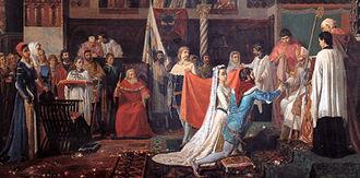 Judge of Arborea - Marriage of Eleanor and Brancaleone.