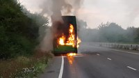 File:Nu Venture Bus Fire East Peckham Driver OK Bus was not in service. Feel free to share CC Licence4.webm