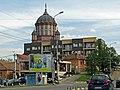 Nufărului Street and Red Chirch Oradea.jpg