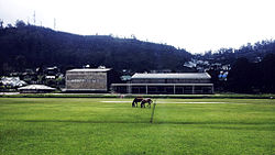 Nuwara Eliya Town Hall and racecourse Ground