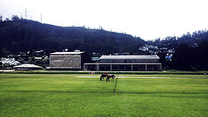 Nuwara Eliya - Image: Nuwara Eliya Town Hall and racecourse Ground