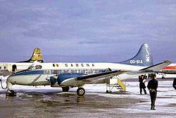 OO-BIA DH114 Heron 1 Sabena RTM 10JAN68 (6812669405).jpg