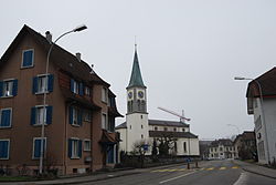 Skyline of Oberentfelden