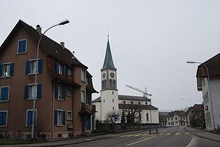 Oberentfelden Municipality in Switzerland in Aargau