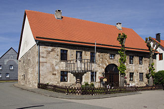Marsberg - Old townhall in Obermarsberg