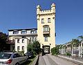 Oberwesel Kirchstraße 55. Kulturdenkmal Weißer Turm der Stadtmauer.jpg
