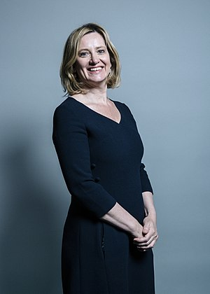 Home Secretary - Image: Official portrait of Amber Rudd