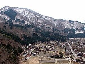 Shirakawa, Gifu (village) - Image: Ogimachi Village 01