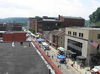 Oil City, Pennsylvania - Image: Oil City PA