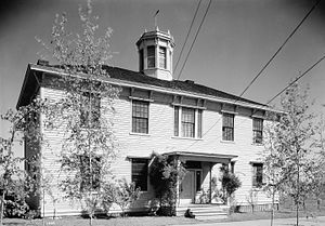 Tualatin Academy - The building in 1934