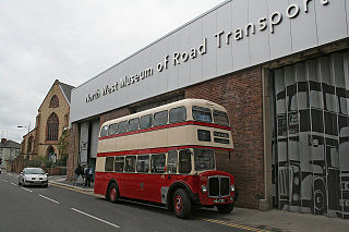 Transport museum in Merseyside , United Kingdom