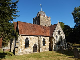 Old St Peter and St Pauls Church, Albury Church in Surrey, England