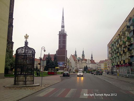 Old Town in Nysa, Poland