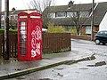Old telephone box, Donaghadee - geograph.org.uk - 739967.jpg