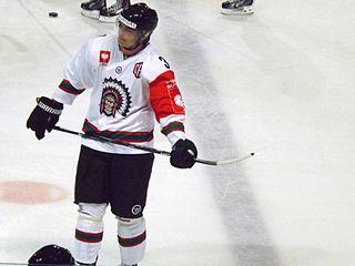 Oliver Bohm Swedish ice hockey player