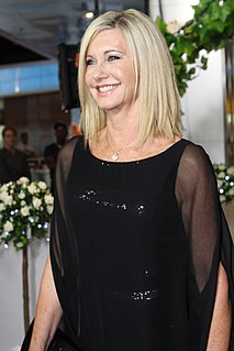 Olivia Newton-John English-born Australian singer, songwriter and actress