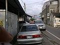 On disused Yuanlin railway Line in downtown Xihu.jpg