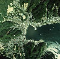 Onagawatown Miyagipref Urban area in 1975.JPG