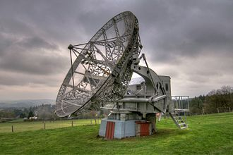 Czech Academy of Sciences - A radioteleskop of the Astronomical Institute in Ondřejov