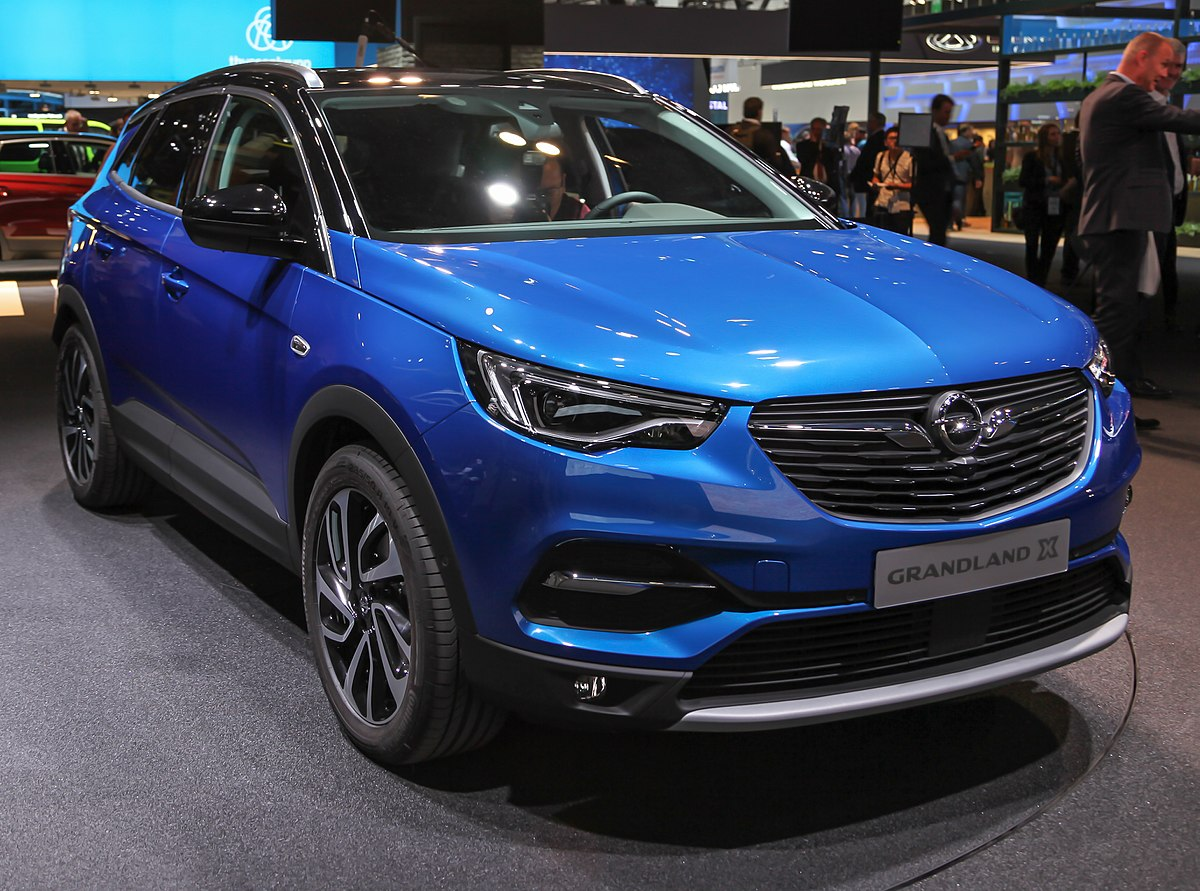 Front Door Colours Opel Grandland X Wikipedia