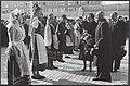 Opening Julianahal op het Jaarbeursterrein door koningin Juliana. De koningin wa, Bestanddeelnr 015-0066.jpg