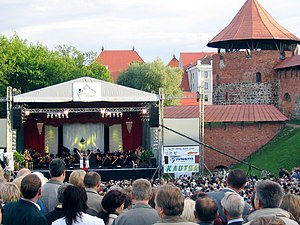 Opera at the Kaunas Castle