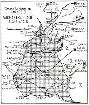 Infiltration tactics - Initial success of Operation Michael within the German Spring Offensive, 21 March – 5 April 1918