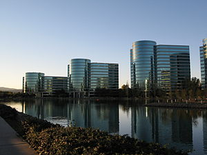 In Redwood Shores, California.