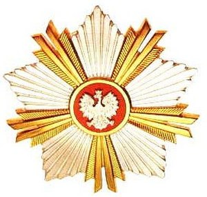 Order of Merit of the Republic of Poland - Image: Order Zasługi RP Order Star