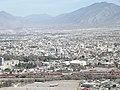 Oriente de Saltillo, Carretera 57, Desde el Mirador del Cristo de las Galeras, Saltillo Coahuila - panoramio.jpg
