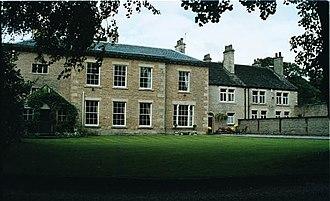 Hollingworth - Original facade of Old Mottram Hall