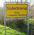 Ortseingangsschild Süderbrarup Heidbergweg.jpg