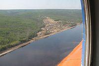 Osharovo settlement on the Podkamennaya Tunguska River.jpg