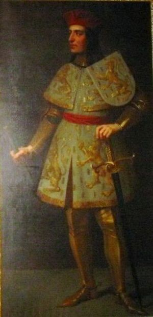 Otto I, Count of Burgundy - Portrait in Besançon Cathedral