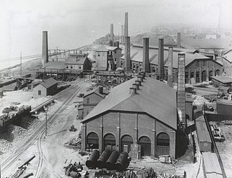 Charles A. Otis - Otis Iron and Steel Company, ca. 1910