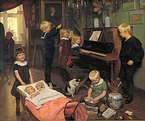 A Concert: The Artist's Children and their Playmates