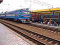 Our train to Odessa at the station in Simferopol (3943989275).jpg