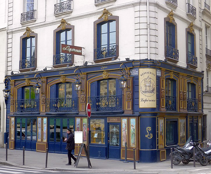 Restaurant La Perouse Paris