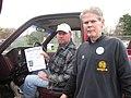 PA- President John Sweeney Leaflets with IAM Local 1671 (2969607203).jpg