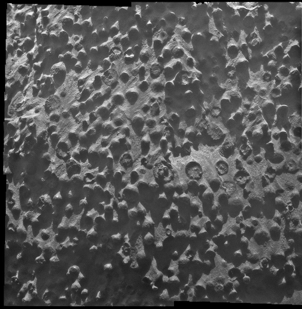 PIA16139 Puzzling Little Martian Spheres That Don't Taste Like 'Blueberries'