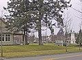 PO w- clock tower park and housing NWL DuPont WA (4575420764).jpg