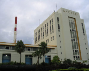 Cataño, Puerto Rico - Bacardi factory, located in Cataño