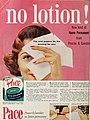 Pace - Procter & Gamble's no lotion permanent, 1958.jpg