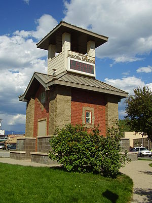 Pagosa Springs, Colorado - Tower at Pagosa Springs