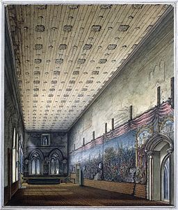 Painted Chamber Westminster William Capon 1799